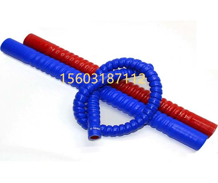 硅胶波纹管